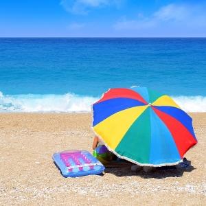 Beach Lefkada Town