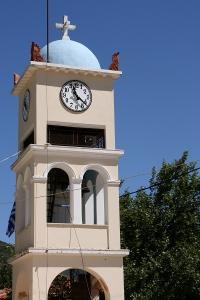 Lefkada Town church