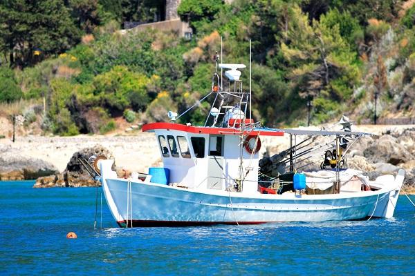 Agios Nikitas boat