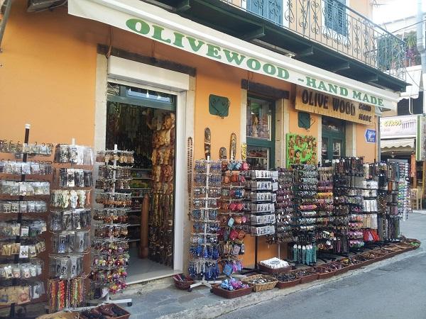 Nidri shops