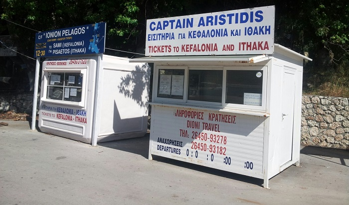Vassiliki ferry ticket offices