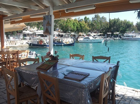 Vassiliki harbour restaurant