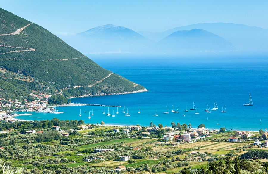 Vassiliki Windsurfing And Beach Resort Of Lefkada Island