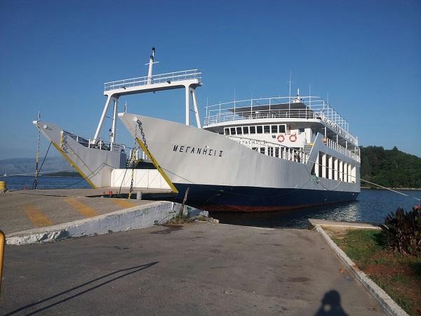 Nidri ferry to Meganisi
