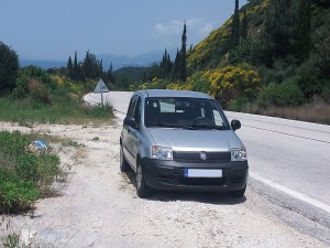 Drive from Igoumenitsa to Lefkada