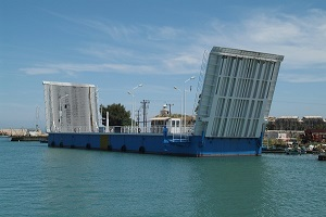 Lefkada swing bridge